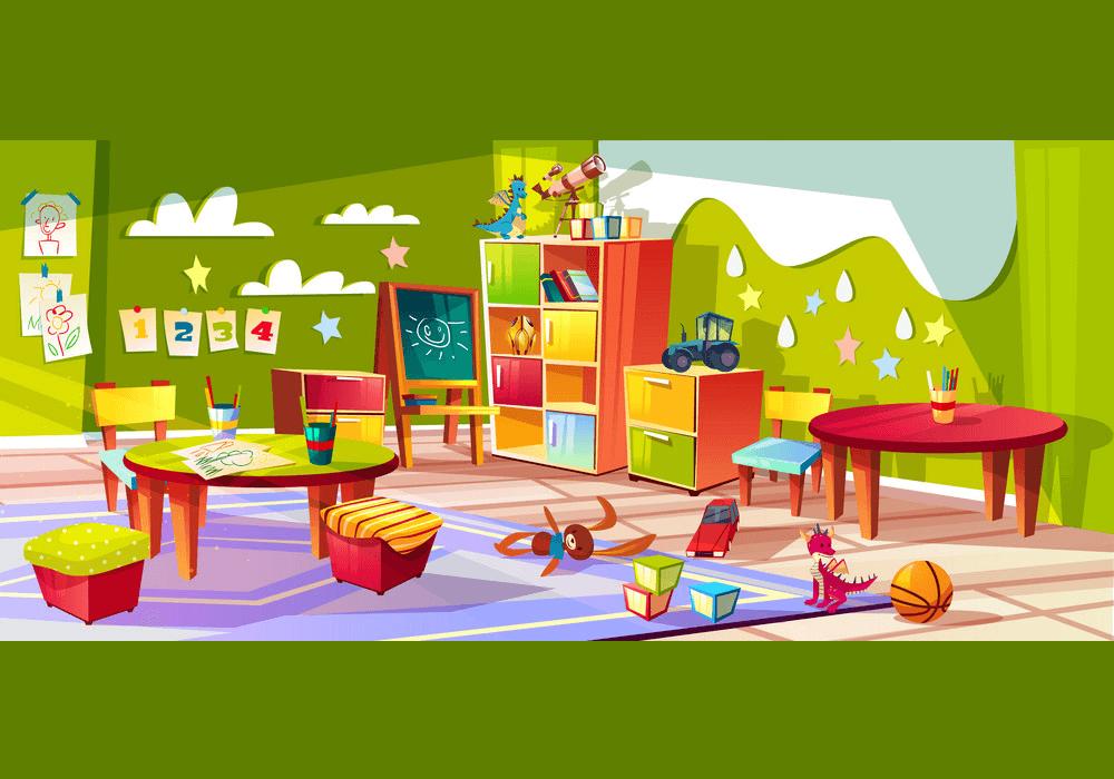 Kindergarten Room clipart