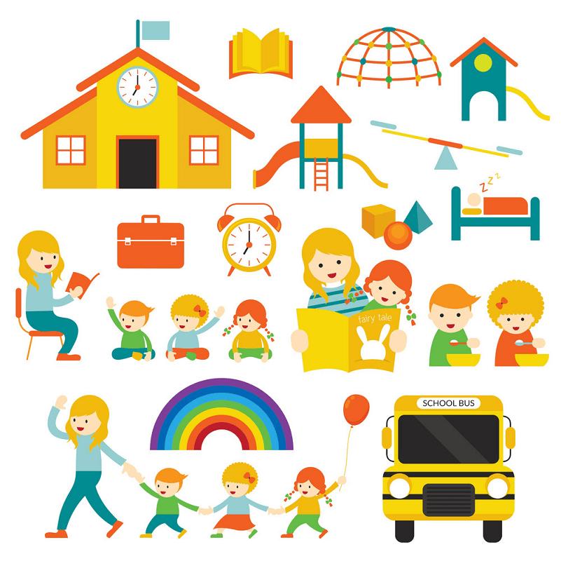 Kindergarten clipart 3