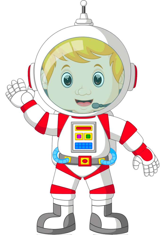 Little Astronaut clipart transparent