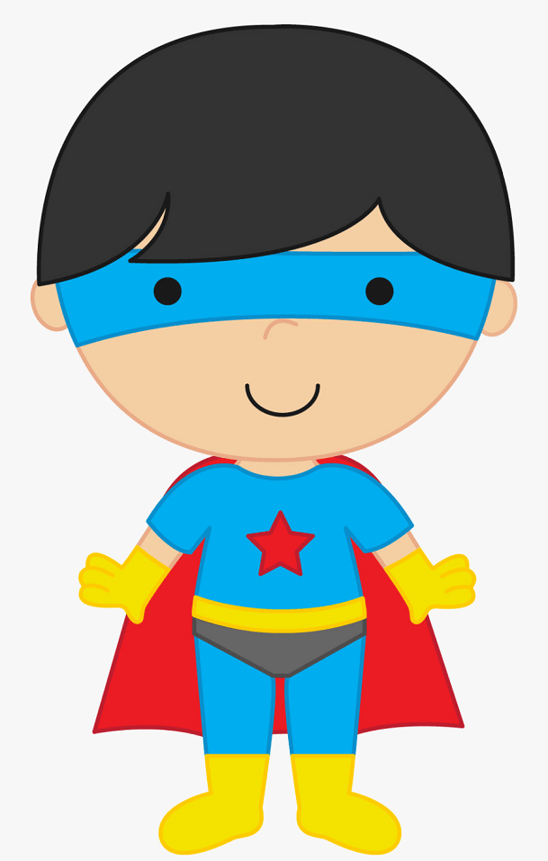 Little Superhero clipart