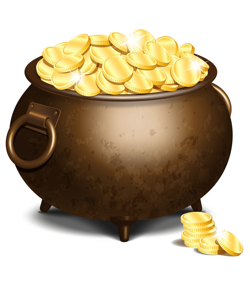 Old Pot of Gold clipart