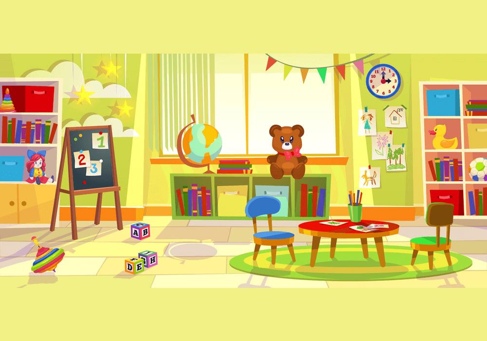Playroom Kindergarten clipart