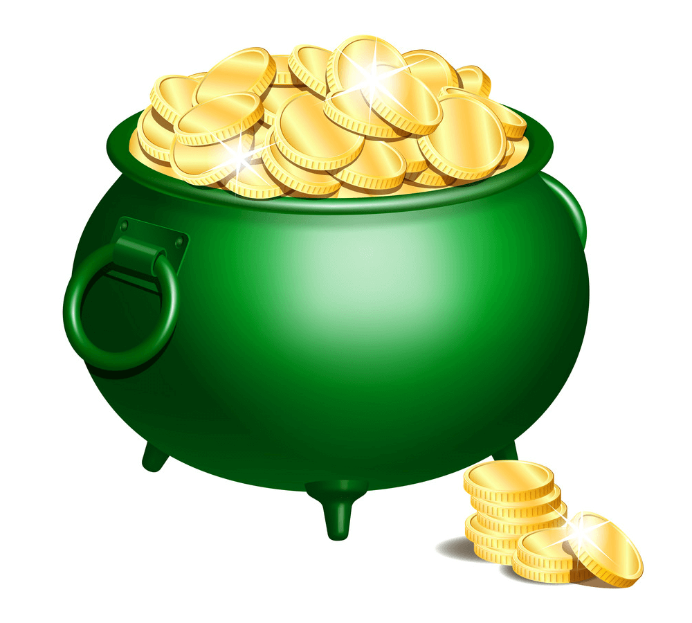 Pot of Gold clipart free