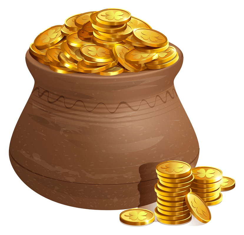 Pot of Gold clipart png