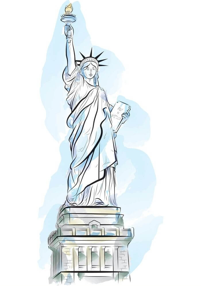 Statue of Liberty Clipart