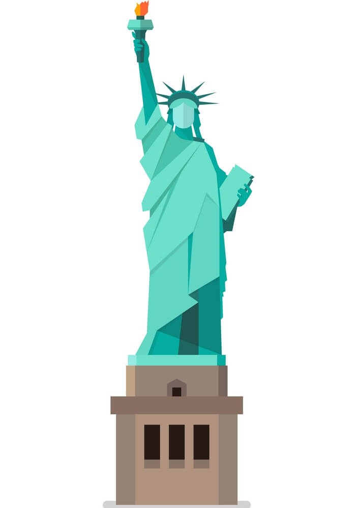Statue of Liberty Icon clipart