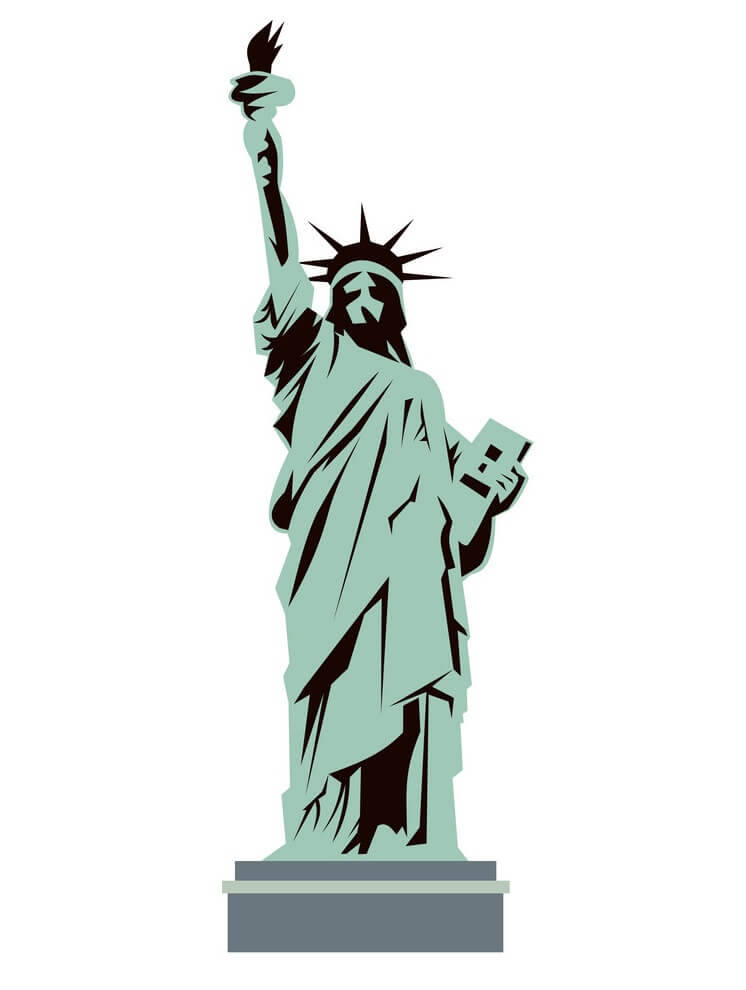 Statue of Liberty clipart 1