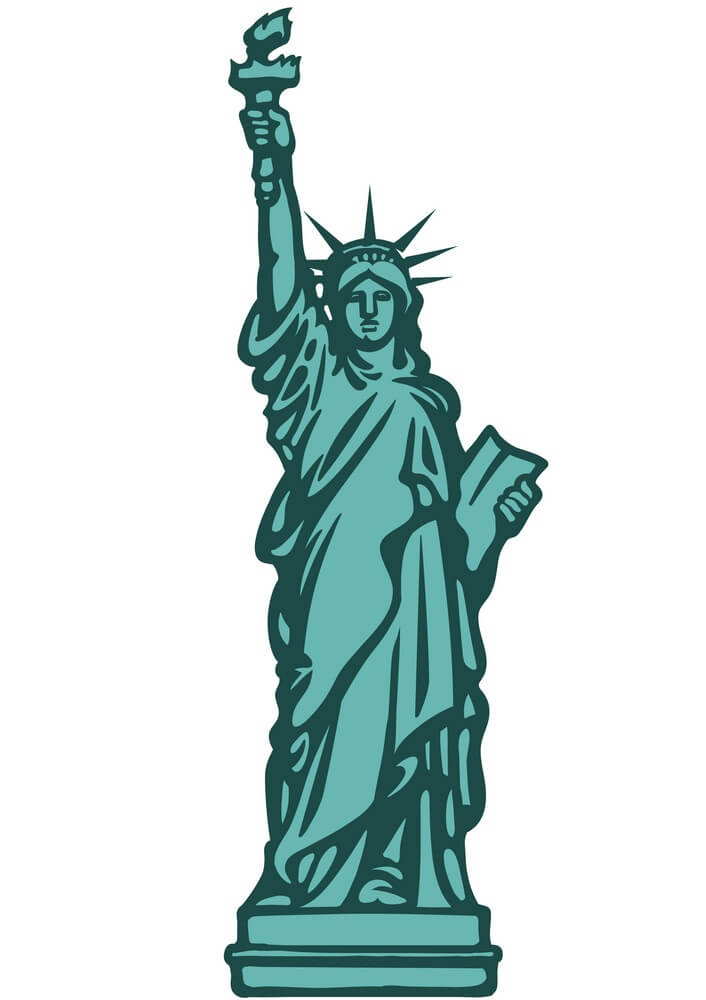 Statue of Liberty clipart 2