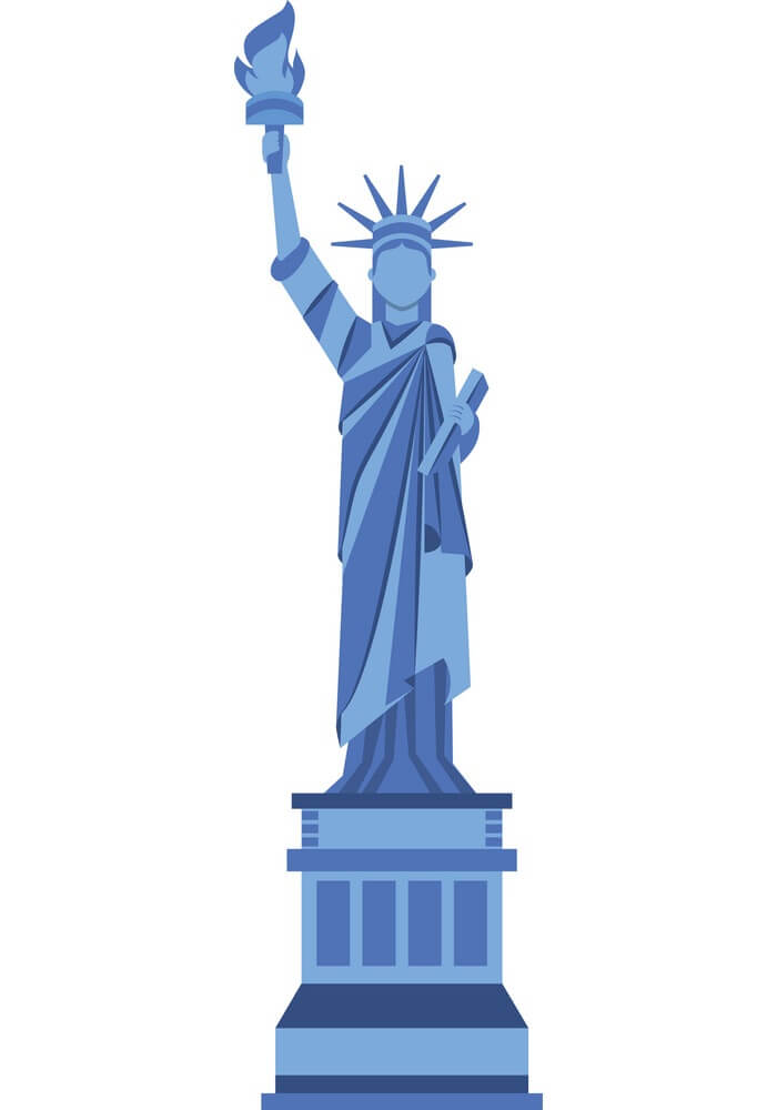 Statue of Liberty clipart 4