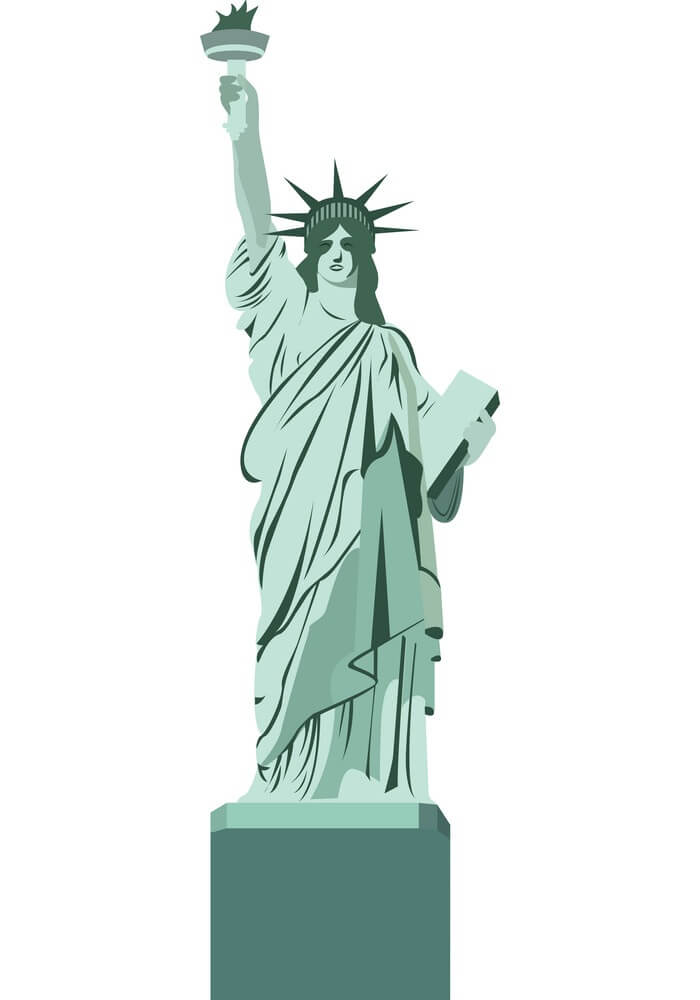 Statue of Liberty clipart 5
