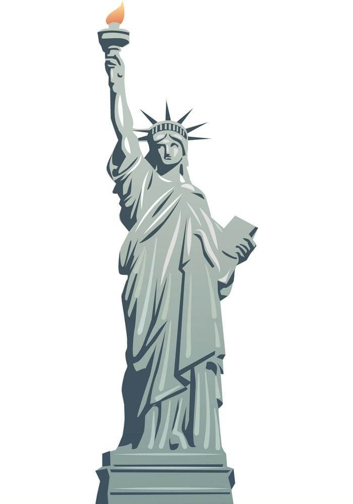 Statue of Liberty clipart 6