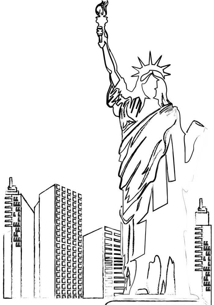 Statue of Liberty clipart 7