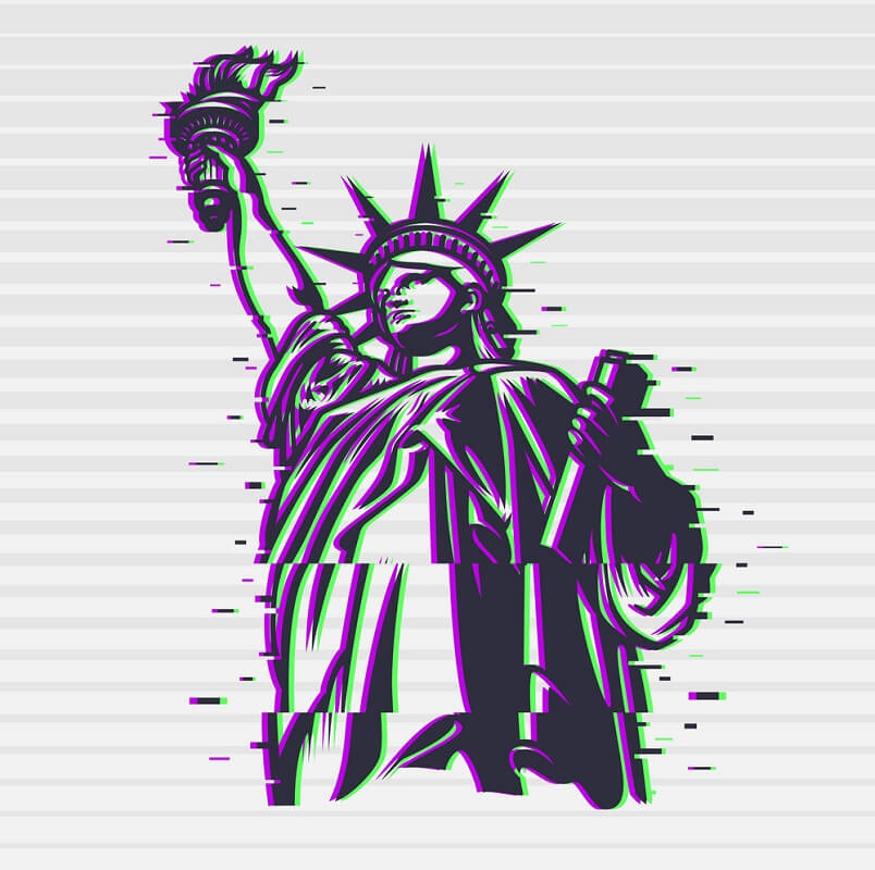 Statue of Liberty clipart 8