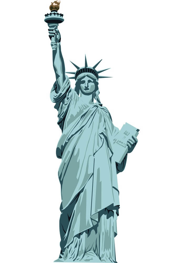 Statue of Liberty clipart image