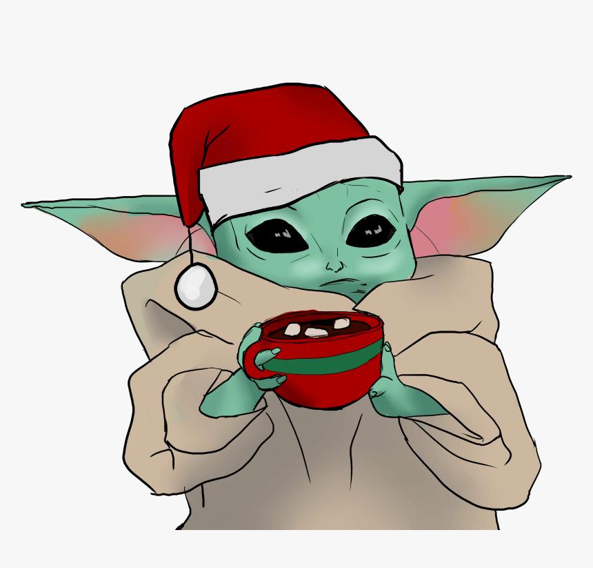 Baby Yoda clipart 3