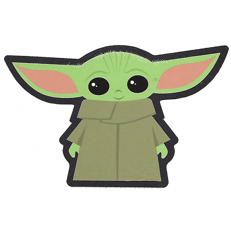 Baby Yoda clipart for free