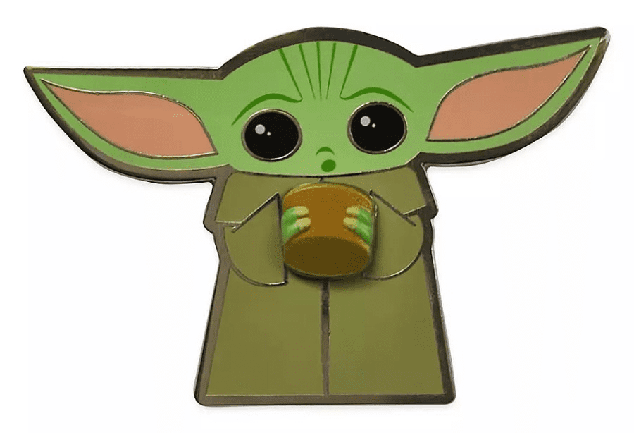 Baby Yoda clipart for kids