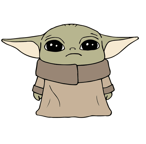 Baby Yoda clipart free download