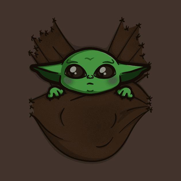 Baby Yoda clipart free image