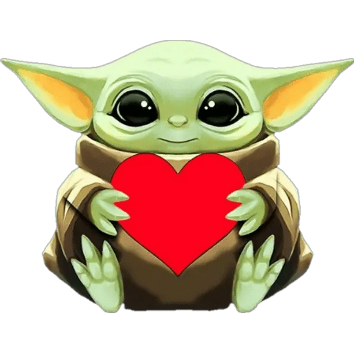 Baby Yoda clipart picture
