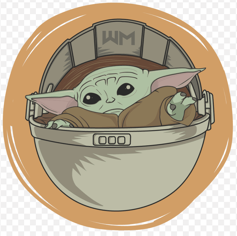 Baby Yoda clipart png