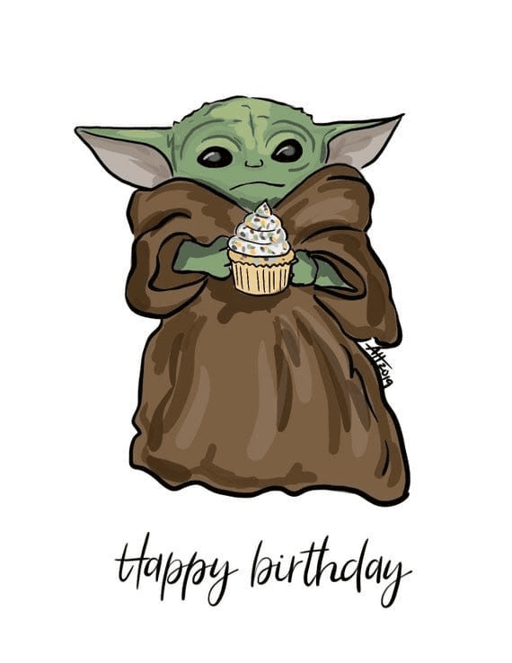 Baby Yoda clipart png download