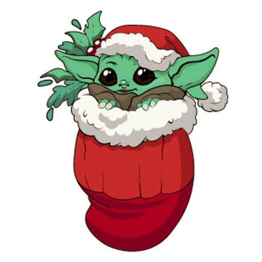 Baby Yoda clipart png for free