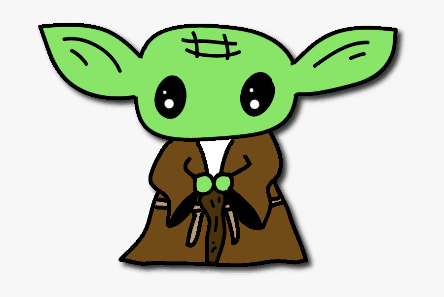 Baby Yoda clipart png for kid
