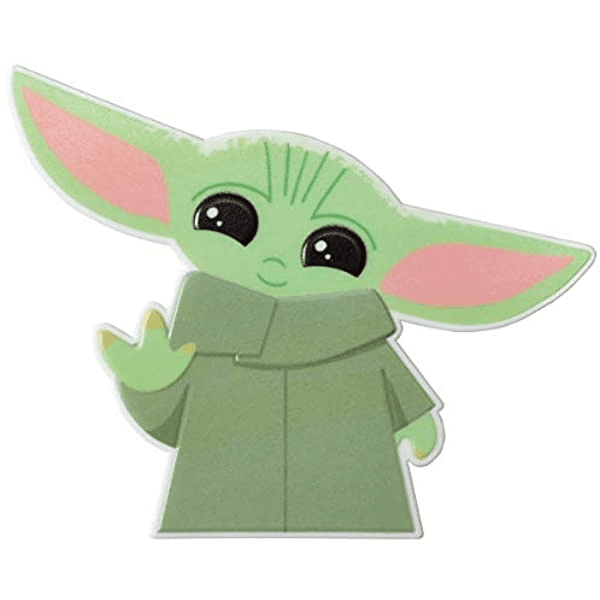 Baby Yoda clipart png for kids