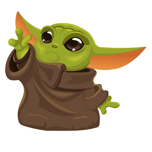 Baby Yoda clipart png free