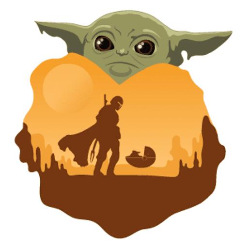 Baby Yoda clipart png image
