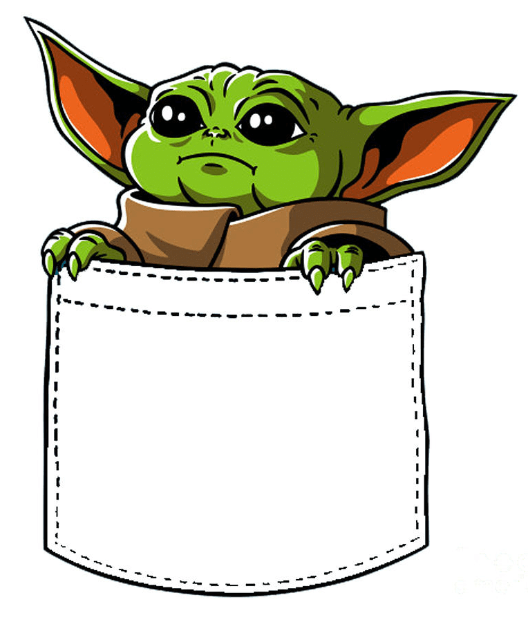 Baby Yoda clipart png picture