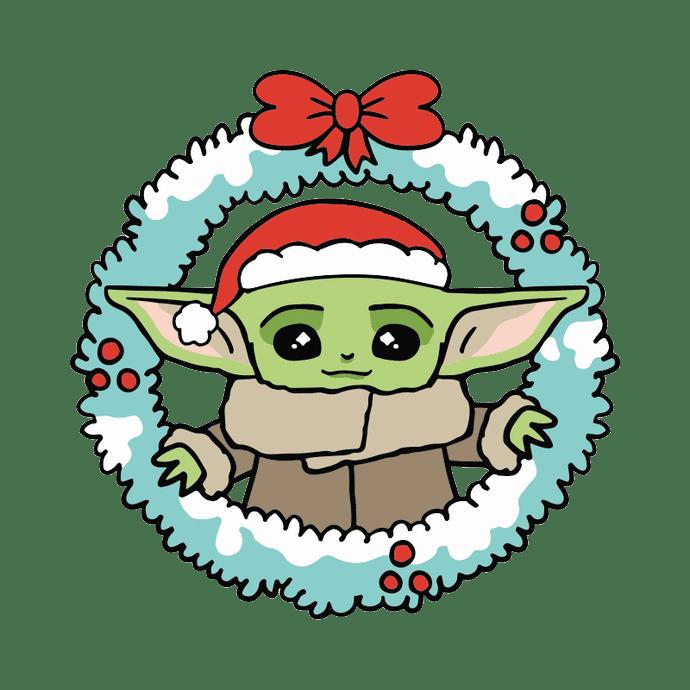Baby Yoda clipart transparent 2