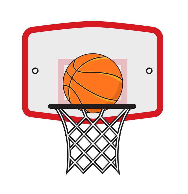 Basketball Hoop clipart 1