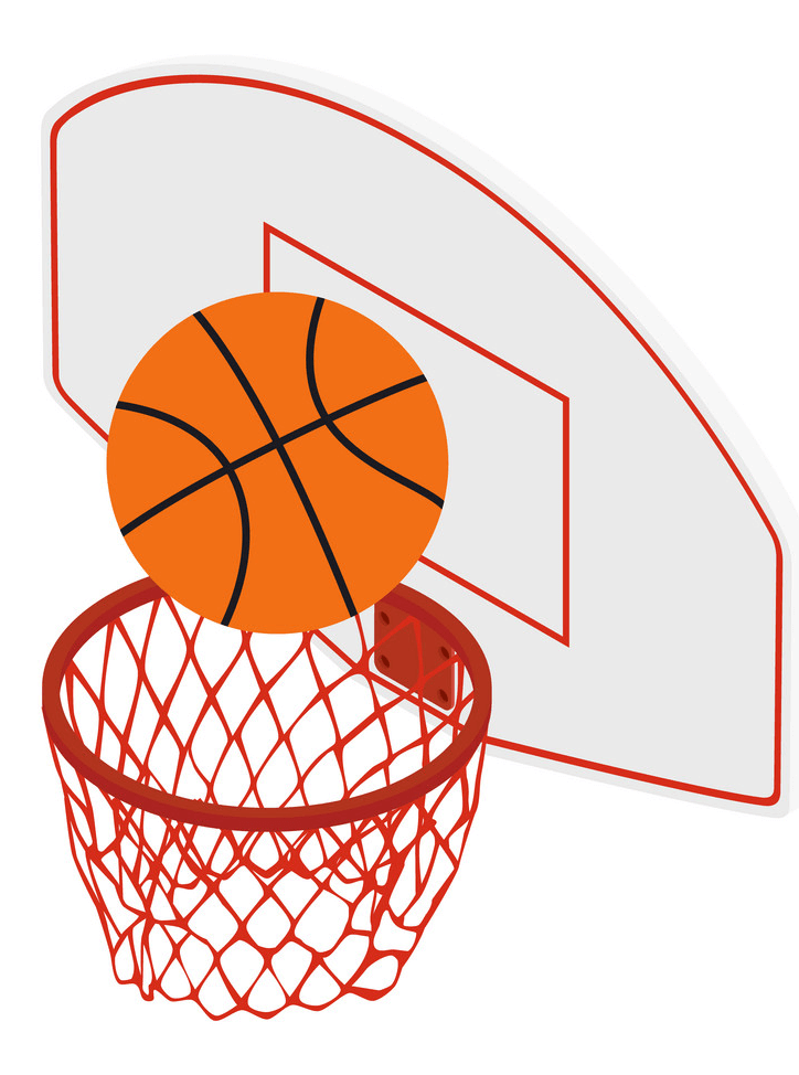 Basketball Hoop clipart for free
