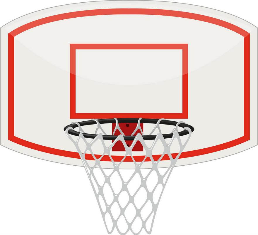 Basketball Hoop clipart free