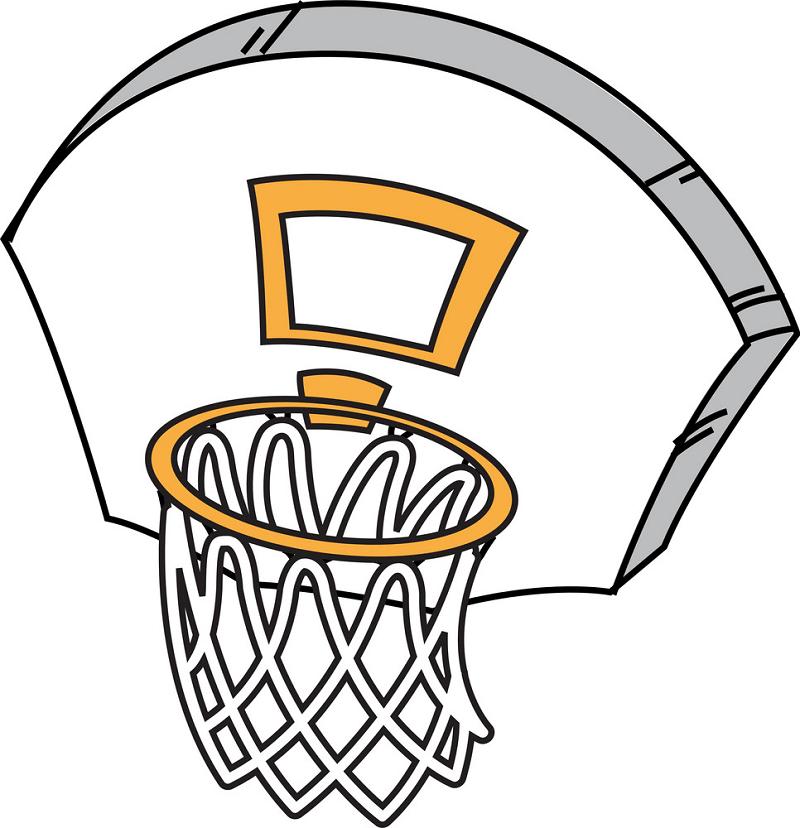 Basketball Hoop clipart png