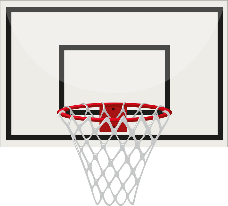 Basketball Hoop free clipart