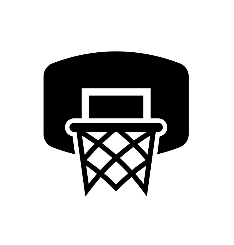 Basketball Hoop icon clipart