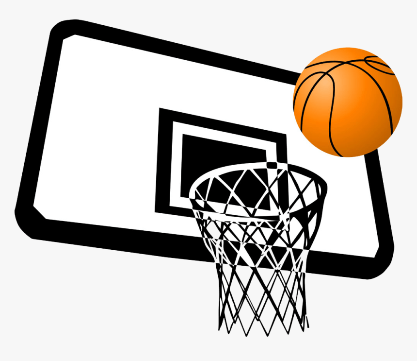 Clipart Basketball Hoop