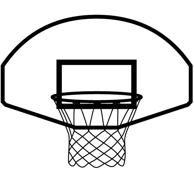 Clipart Icon Basketball Hoop
