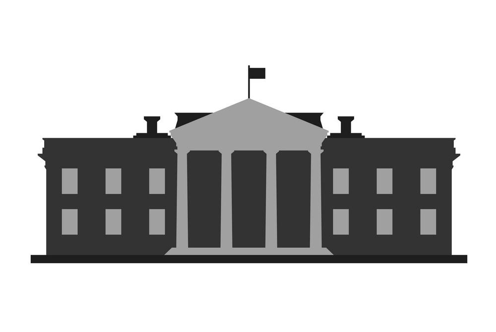 Clipart White House Icon