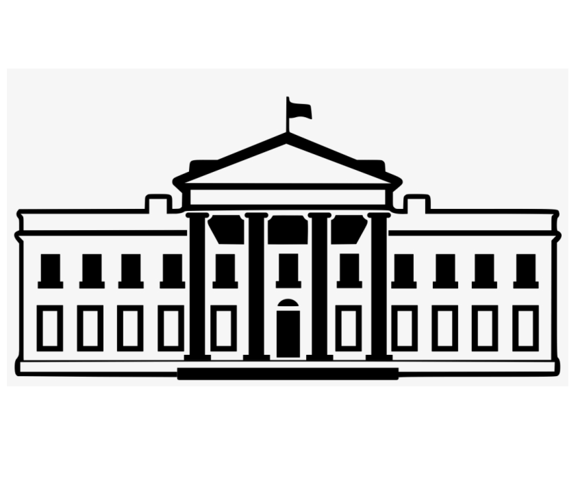 Clipart White House Outline