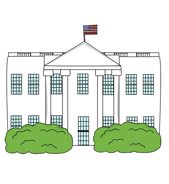 Clipart White House