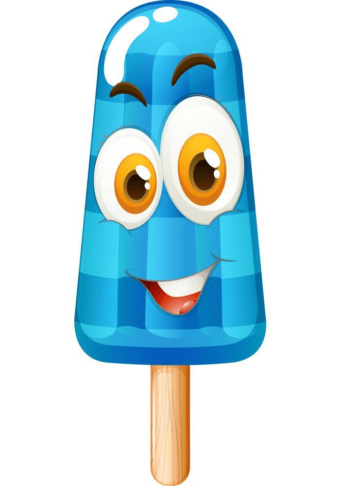 Cute Popsicle clipart 5