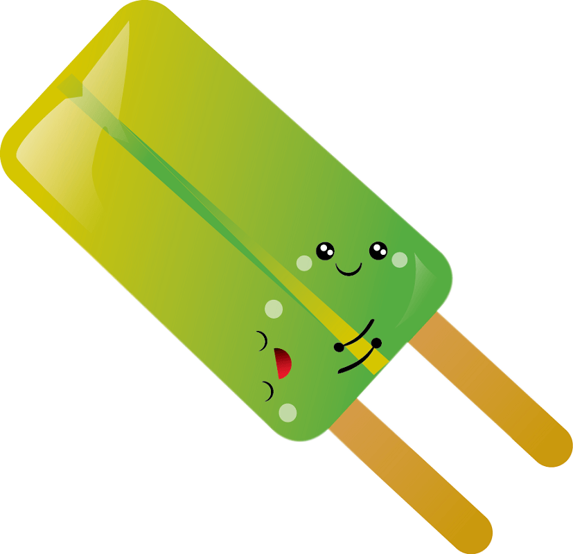 Cute Popsicle clipart 8