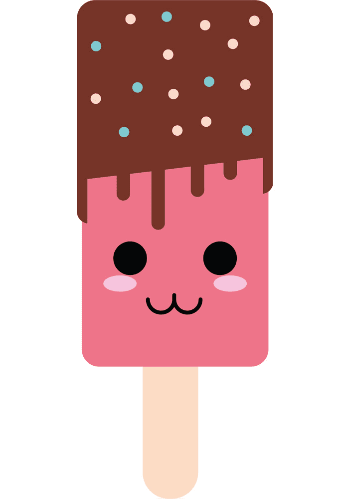 Cute Popsicle clipart