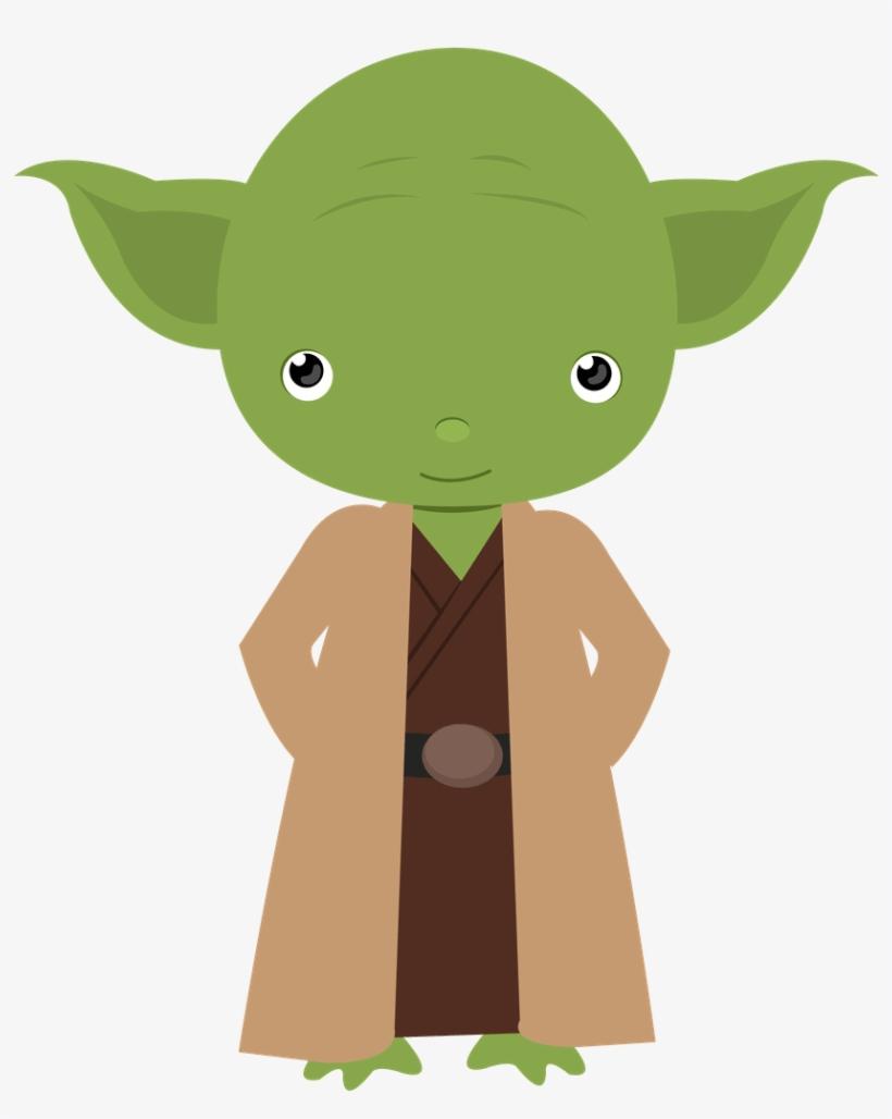Cute Yoda clipart 3