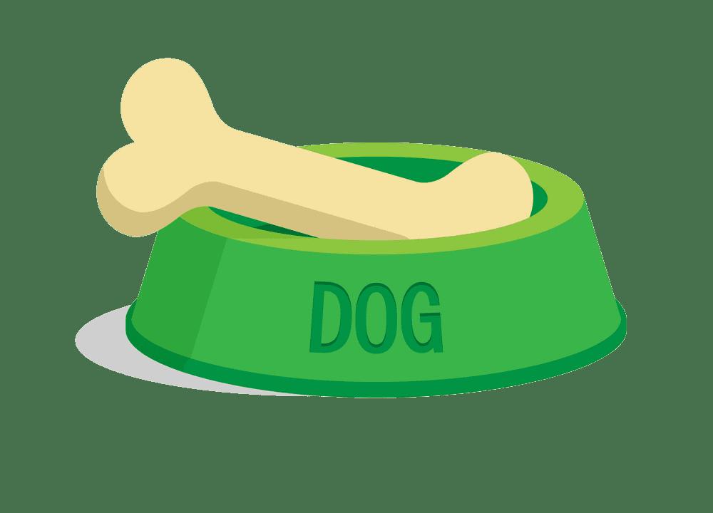 Dog Bone clipart transparent 1