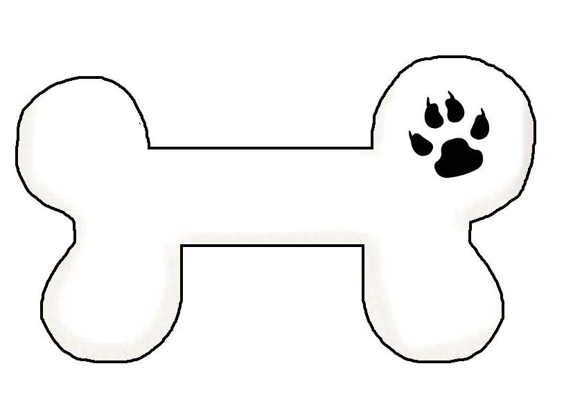 Dog Bone free clipart